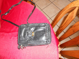 leather shoulder purse