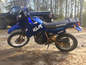 Klr 650 and gear