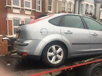 2005 Ford Focus 1.6 manual breaking