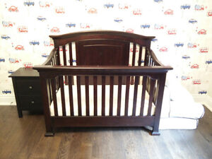 Windsor cache convertible crib and Sealy mattress