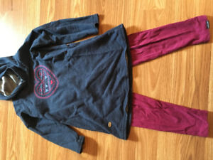 Robe tunique et leggings Souris mini 3 ans