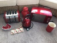 RED kitchen appliances & accessories