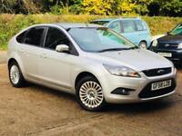 2008 Ford Focus 1.6 ( 100ps ) Titanium Silver only 69k Miles Service History!!!!