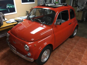 AMAZING 1972 FIAT 500 AVAILABLE TO SERIOUS COLLECTORS ONLY