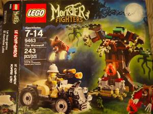 Retired Lego set The Werewolf Monster Fighters BNIB