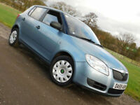 2009 59 SKODA FABIA 1.2 HTP 1 5 DOOR**FSH**NEW MOT**£2795