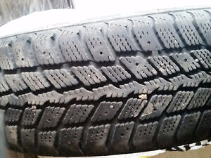 Four winter tires 185/65/14 with 80% thread for $160