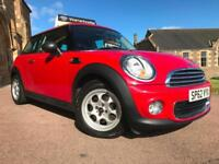 *3 MTHS WARRANTY*2012(62)MINI ONE 1.6(PEPPER)WITH ONLY 37K FSH*