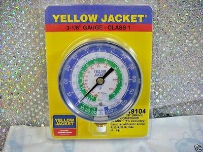 Yellow Jacket, Ritchie, Gauge, Part# 49104, 3-1/8 R12, R22, R134a,  -30 to 350  for sale  Hartford
