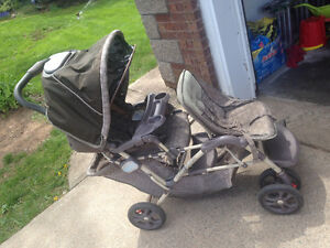 Double stroller Graco duo glider