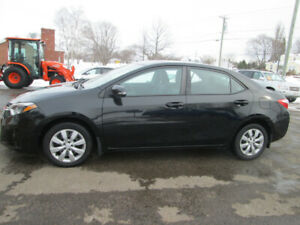 2014 TOYOTA COROLLA S   TRADE WELCOME