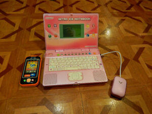 Baby touch phone et Nitro ice Notebook Vtech