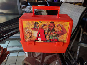 Vintage 1983 Plastic Lunchbox The A Team EXTREMELY RARE