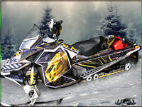 Custom Snowmobile Wraps & Sled Graphics