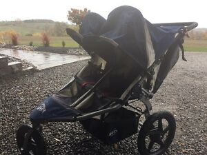 Bob Revolution Double Jogging Stroller - excellent condition