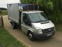 Ford Transit 2.4TDCi Duratorq ( 140PS ) 350M Tipper / Extended cage 2007/57