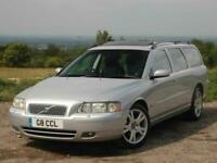 Volvo V70 D5 SE Auto Sunroof. Cherished Number. ONE OWNER 80,000 miles