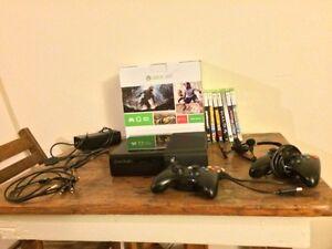 Xbox 360 (250 GB) bundle. $200 OBO