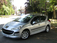 Peugeot 207 SW 1.4 S Estate**One Lady Owner From New**Genuine 64,000 Miles**PSH*