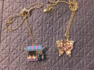 COSTUME JEWELLRY FROM BETSY JOHNSON COLLECTION