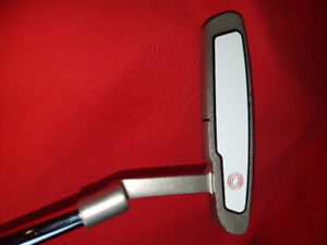 Left hand ODYSSEY putter with oversize grip