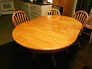 (BEST OFFER!!!) Two(2) Solid Wood Tables with 10 Chairs for Sale