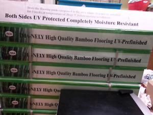 Bamboo hardwood