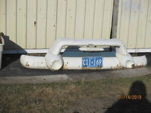 1955 GMC  9430 front bumper and grille