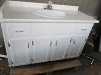 48X21.5 inch Bathroom vanity with sink and faucet