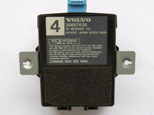Volvo V40 S40 2000-2004 Keyless Remote Entry Module 30857626