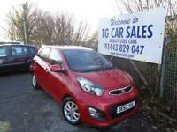 2013 Kia Picanto 2 EcoDynamics Hatchback Petrol Manual