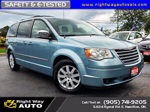 2010 Chrysler Town&Country Touring |DVD's | SAFETY & E-TESTED