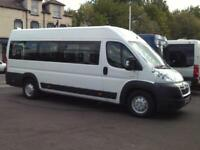 Citroen RELAY 40 HDI 160 XLWB 17 SEAT WHEELCHAIR ACCESSIBLE MINIBUS TACHOGRAPH
