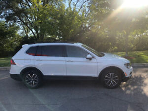 Volkswagen Tiguan 2018 Lease take-over