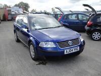 2004 Volkswagen Passat 2.0 S Estate. Only 65,000 miles. 2 owners FSH.