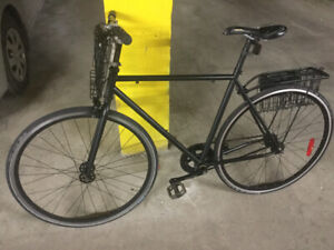Velo United Fixie Bike Black color Large frame
