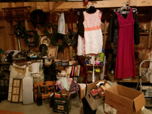 HUGE GARAGE SALE 270 MARGARET AVENUE STONEY CREEK SUN JULY 29 9a
