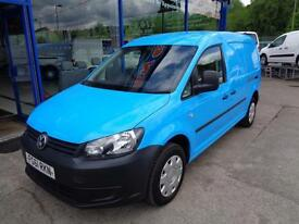 2011 VOLKSWAGEN CADDY MAXI C20 TDI LWB - 1 OWNER CAR DERIVED VAN DIESEL