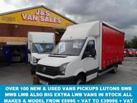 2015 62 VOLKSWAGEN CRAFTER JUMBO EXTRA L.W.B CRAFTER C50,163 BHP TWIN REAR WHEE