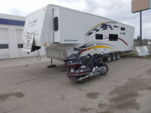 Toy hauler Gearbox38ft12 ft garage 1  Owner Old Guy PriceFIRM