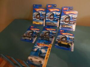 Hot Wheels Faster Than Ever Gold Spokes Mercedes,Camaro etc. Lot