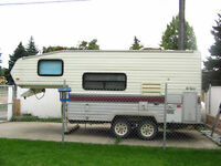 Terry 18.5 ft 5th wheel  **** SMALL PICKUP TOWABLE ****