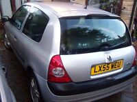 55reg -Renault CLIO 1.2 Dynamique - Nice car - TEST Sept 27th only £595