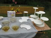 Cake/Cupcake/Cookies stands/ carring cases/ $5 to $30