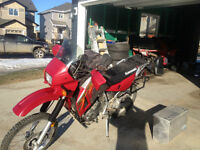 klr 650 lots of extras
