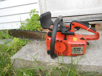 Stihl chainsaw with case