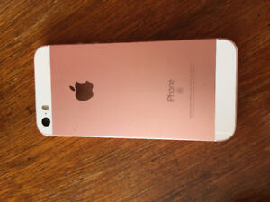 iPhone 5SE Rose Gold