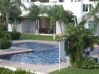Beautiful 3 Bedroom Townhouse w/Pool Gated Area Bucerias Mexico