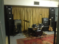 Band Rehearsal Space