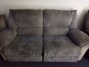 2 seater couch / 2 arm chair recliners